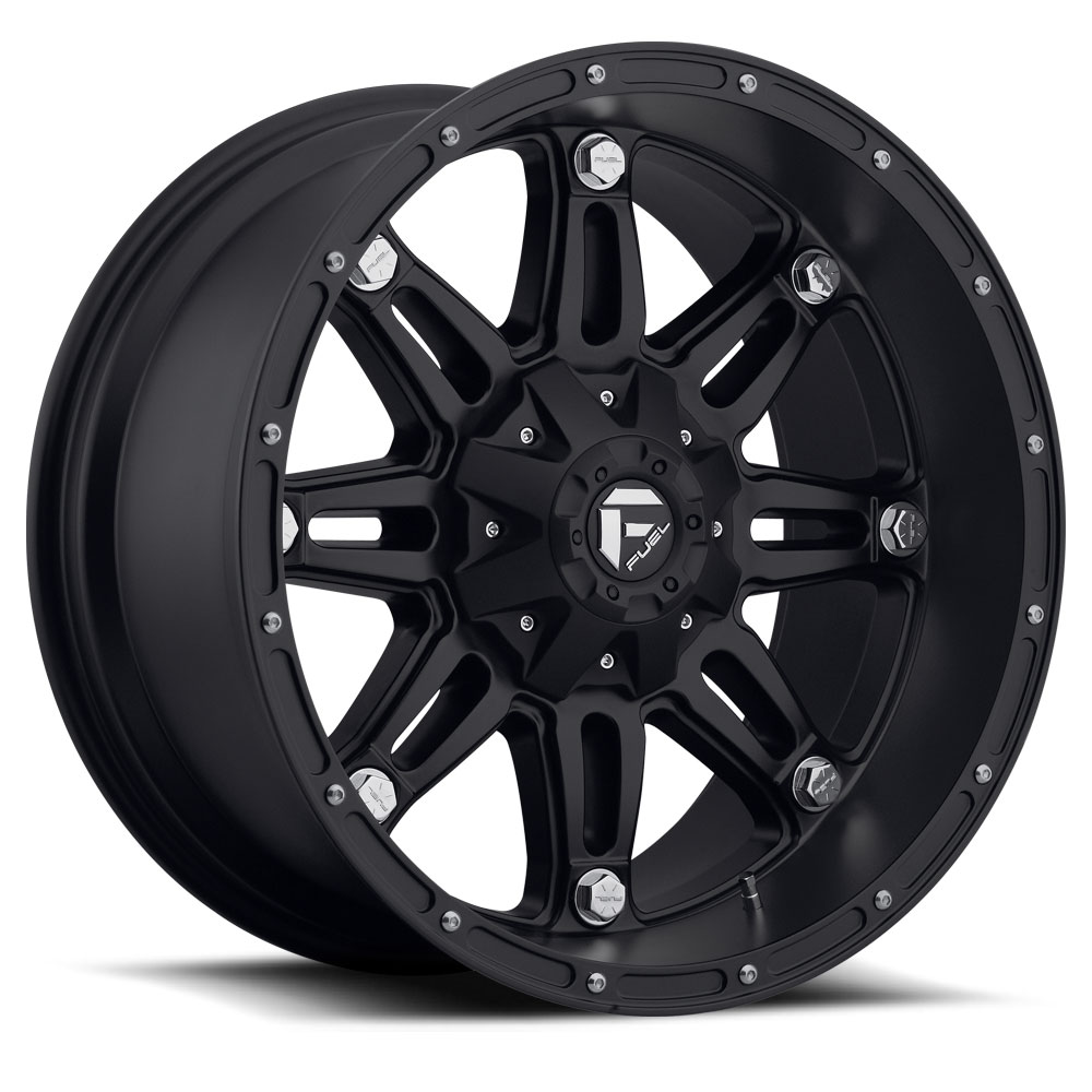 18x9 Fuel Offroad Wheels Fuel Offroad D531 Hostage Matte Black
